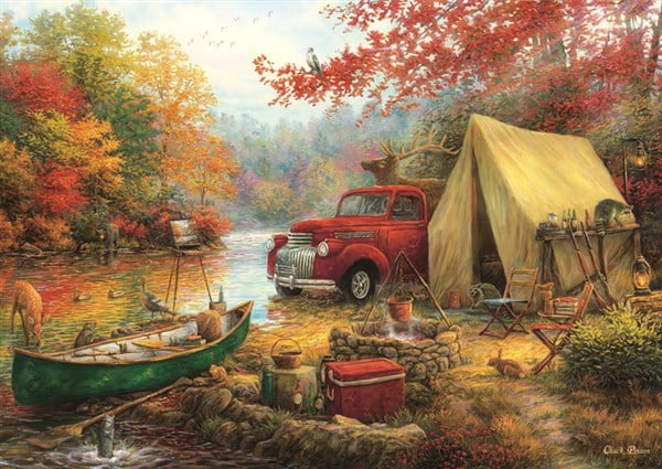 CHUCK PINSON - SHARE THE OUTDOORS 1000 PC JIGSAW PUZZLE