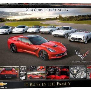 corvette-it-runs-in-the-family-1000-pc-jigsaw-puzzle