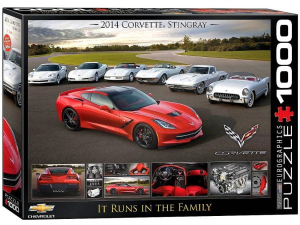 corvette-it-runs-in-the-family-1000-pc-jigsaw-puzzle