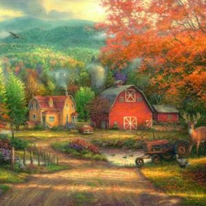 Country Roads Take me Home 1000 PC Jigsaw Puzzle