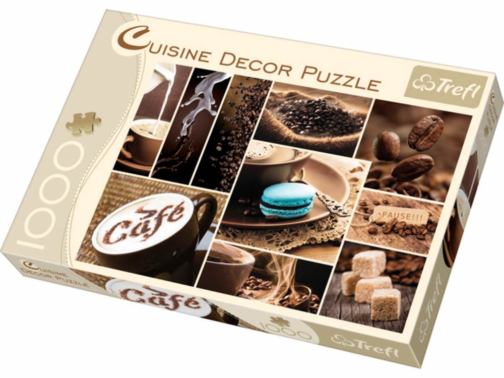 cuisine decor coffee 1000 pc jigsaw puzzle puzzle palace australia. Black Bedroom Furniture Sets. Home Design Ideas