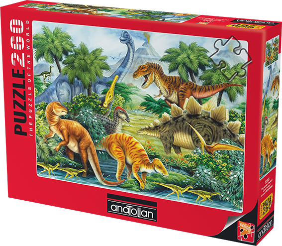 dino-valley-i-260-pc-jigsaw-puzzle