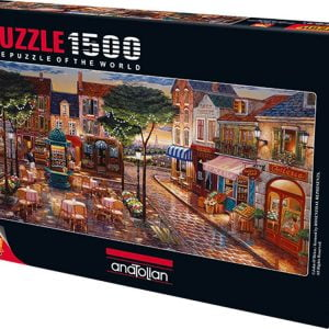Evening at the Square 1500 Piece Anatolian Puzzle