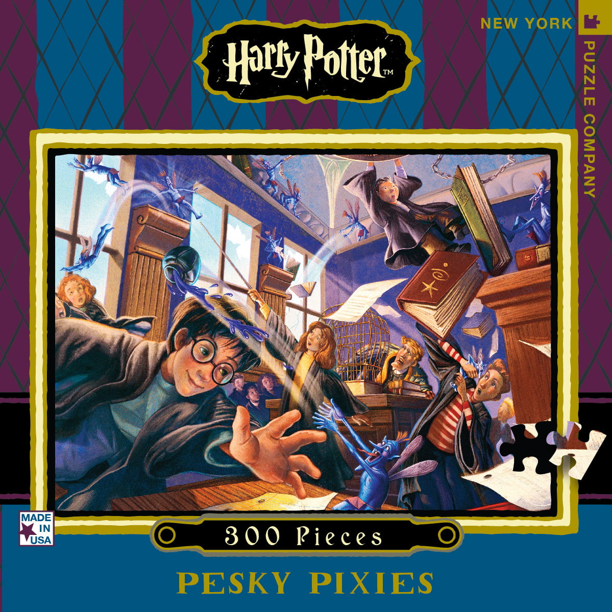 New York And Company Credit Card Payment >> HARRY POTTER PESKY PIXIES 300 PC JIGSAW PUZZLE - PUZZLE ...