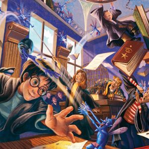 Harry Potter Pesky Pixies 300 PC Jigsaw Puzzle