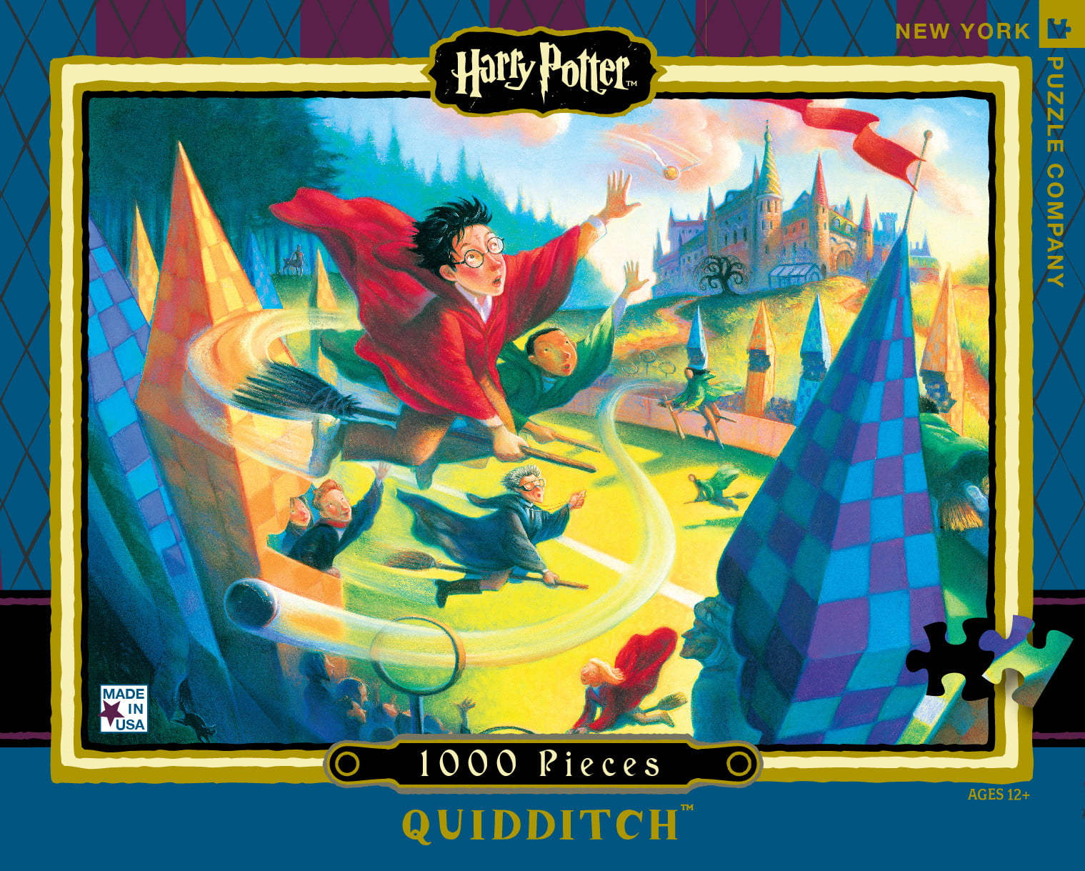 New York And Company Credit Card Payment >> HARRY POTTER QUIDDITCH 1000 PC JIGSAW PUZZLE - PUZZLE PALACE AUSTRALIA