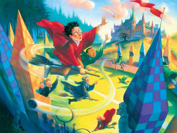 Harry Potter quidditch 1000 PC Jigsaw Puzzle