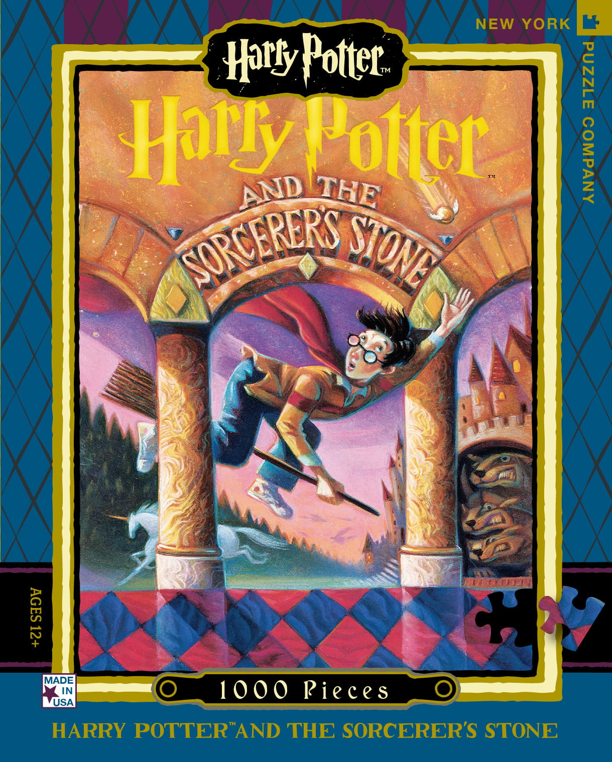 Harry Potter And The Sorcerer U0026 39 S Stone 1000 Pc Jigsaw