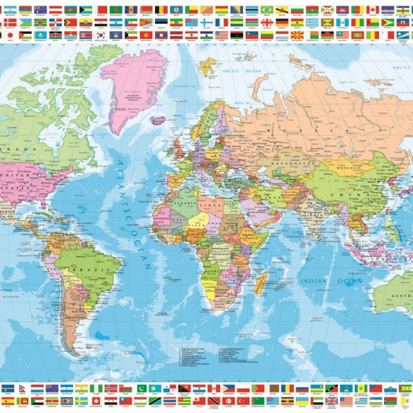 Political world map 1500 pc educa jigsaw puzzle puzzle palace political world map 1500 piece educa puzzle gumiabroncs Images
