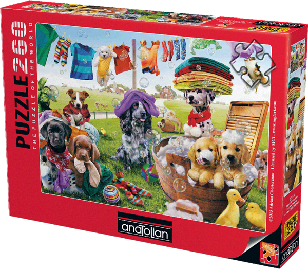 puppies-playing-260-pc-jigsaw-puzzle