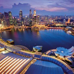 Singapore Skyline 1000 PC Jigsaw Puzzle