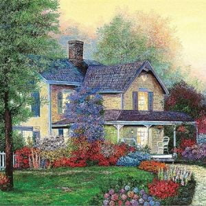 Dream Flower Garden 2000 PC Jigsaw Puzzle