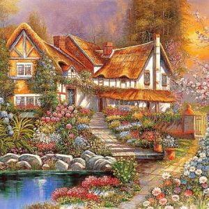 Dreamy Scenery 4000 PC Jigsaw Puzzle