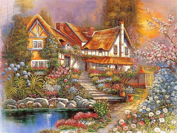 Tomax Jigsaw Puzzle - Dreamy Scenery 4000 PC at PUZZLE ...