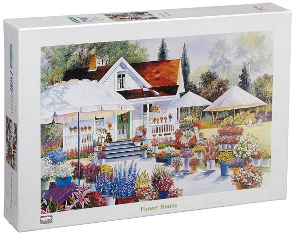 Flower House 1500 PC Jigsaw Puzzle
