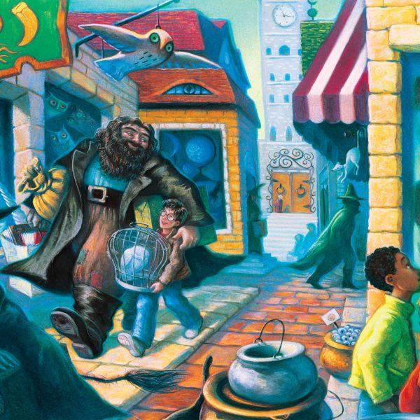Harry Potter Diagon Alley 100 PC Mini Puzzle