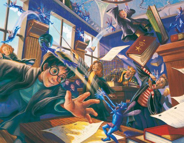 Harry Potter - Pixie Mayhem 100 Piece mini Puzzle