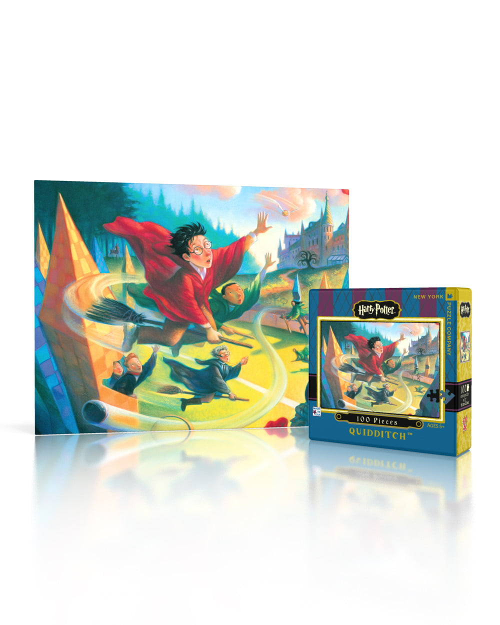 New York And Company Credit Card Payment >> Harry Potter 100 PC Jigsaw Puzzle Quidditch at PUZZLE ...