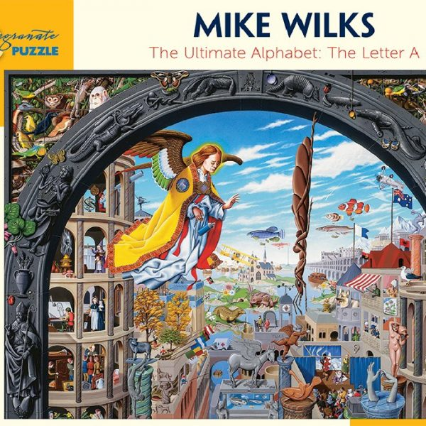 Mike Wilks the Letter A 1000 pc Jigsaw Puzzle