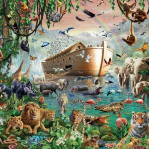 Noah's ark 4000 PC Jigsaw Puzzle