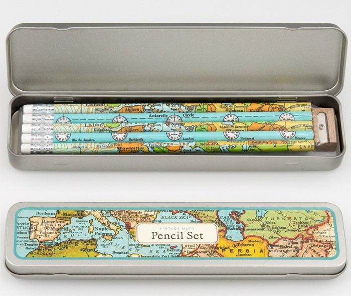 pencil-set-vintage-maps