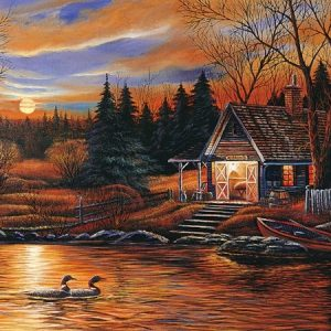 Romantic Scenery 1500 PC Jigsaw Puzzle
