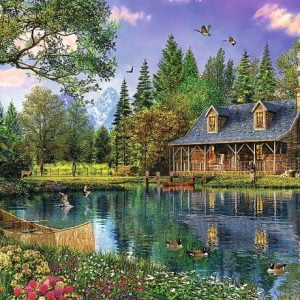 Afternoon Idyll 4000 PC Jigsaw Puzzle