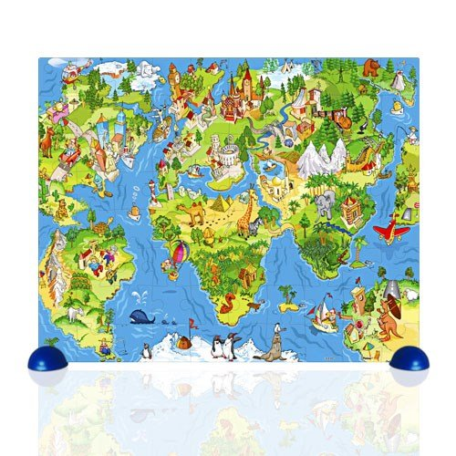 All Around the World 80 PC Jigsaw Puzzle