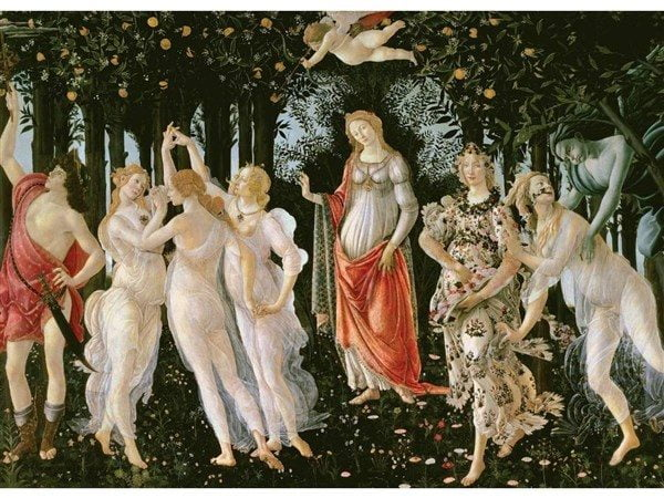 Allegory of Spring 2000 PC Jigsaw Puzzle