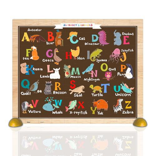 Alphabet & Animals 80 PC Jigsaw Puzzle