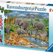 Animals In Africa Puzzle 200 PC Jigsaw Puzzle