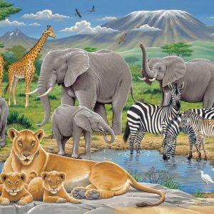 Animals In Africa Puzzle