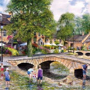 Bourton on the Water 1000 PC Jigsaw Puzzle
