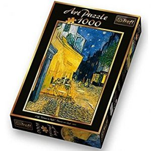 Cafe Terrace at Night Van Gogh 1000 PC Jigsaw Puzzle