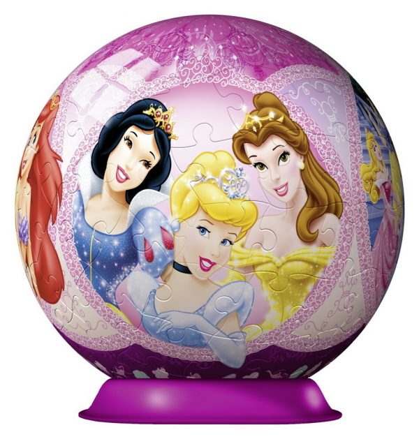 Disney Princess 3D PuzzleBall 108PC