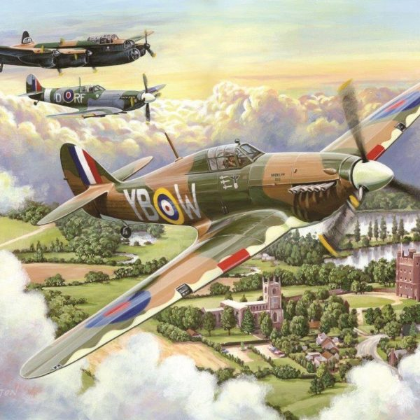 Final Approach Big 500 PC Jigsaw Puzzle