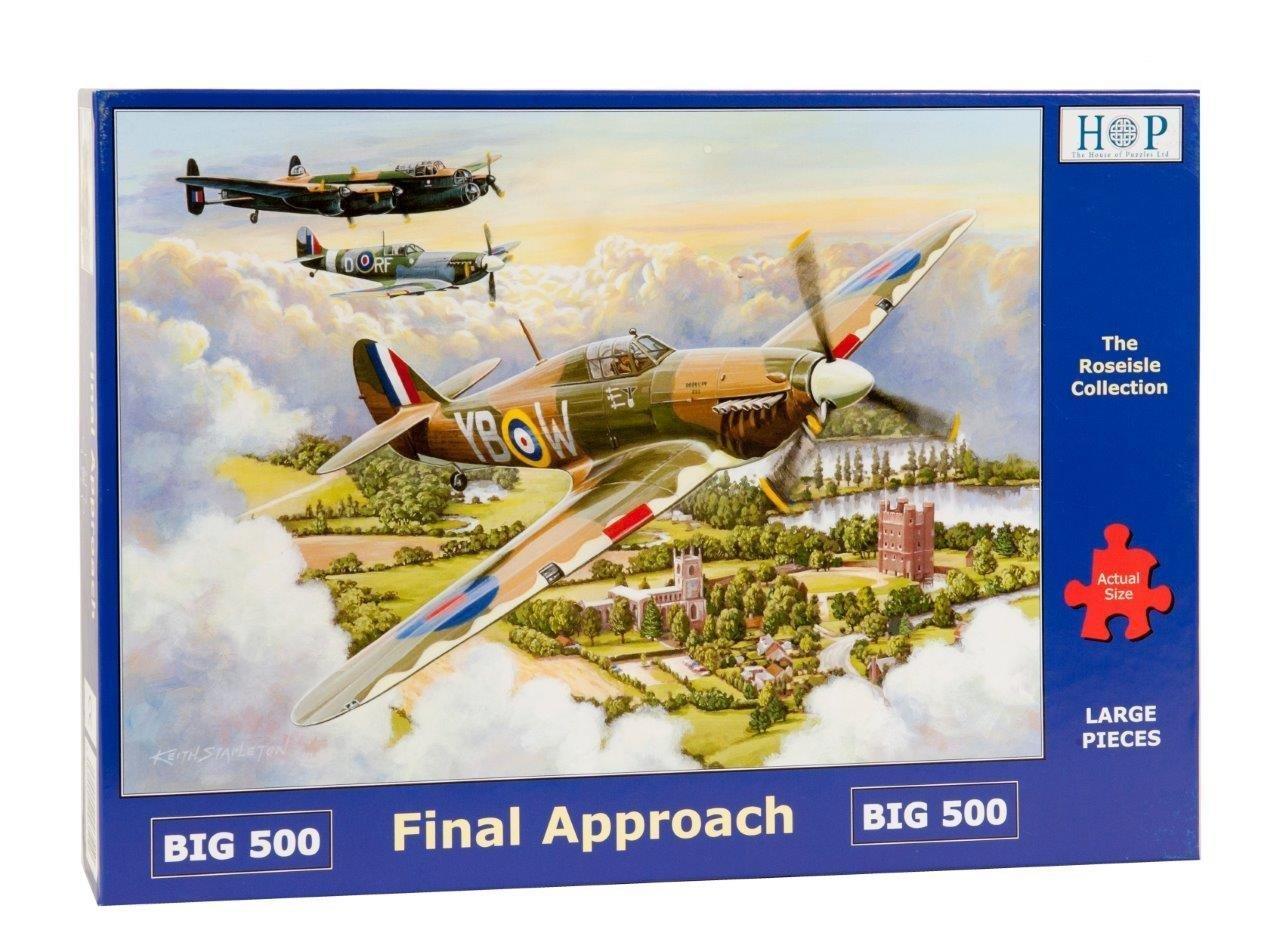 Final Approach Big 500 PC Jigsaw Puzzle