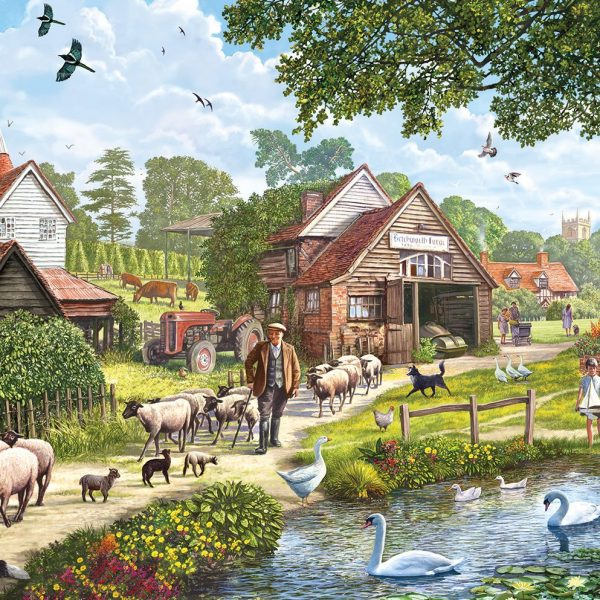 Hop Country 1000 PC Jigsaw Puzzle