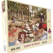 Learn to Paint 500 LGE PC Jigsaw Puzzle