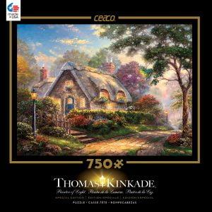 LoveLight Cottage Thomas Kinkade 750 PC Jigsaw Puzzle