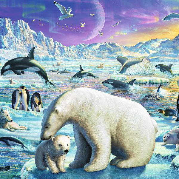 Meet the Polar Animals 300 PC Jigsaw Puzzle