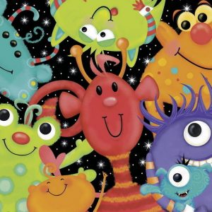 Monster Buddies 60 PC Jigsaw Puzzle