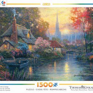 Nanette's Cottage 1500 PC Jigsaw Puzzle
