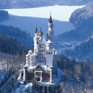 Neuschwanstein Castle 4000 PC Jigsaw Puzzle
