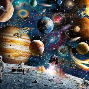 Outer Space 150 PC Jigsaw Puzzle