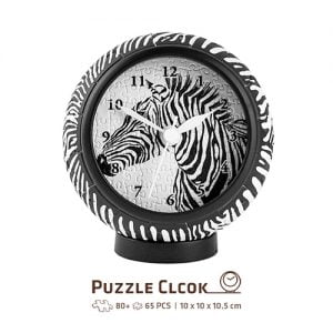 Puzzle Clock Zebra 145 PC