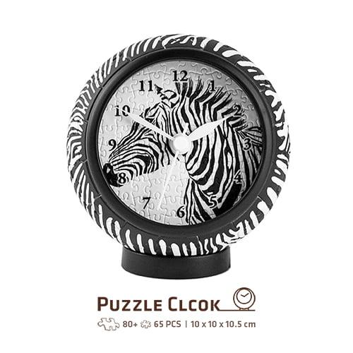 Puzzle Clock Zebra 145 PC