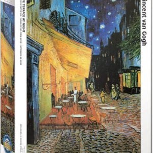 Van Gogh Cafe at Night 1000 Piece Puzzle