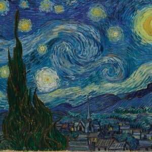 Van Gogh Starry Night 1500 PC Jigsaw Puzzle