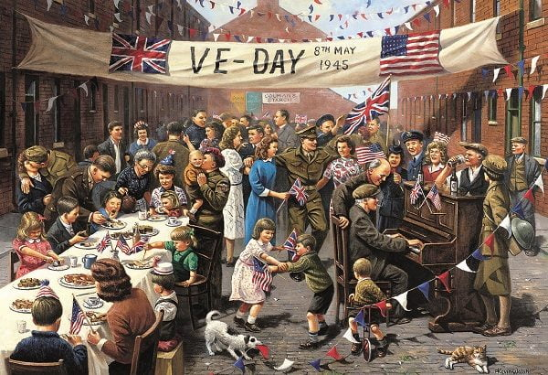 Ve-Day 1000 PC Jigsaw Puzzle